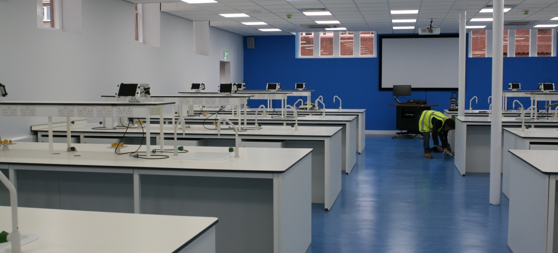 Chester University M&E Contract , Cheshire