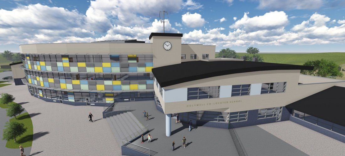 ICR Group Appointed for Holywell Super School