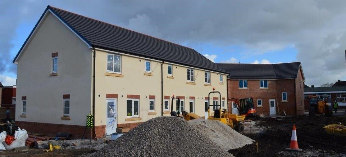 Mancot Flintshire gets new build homes – M&E Contract